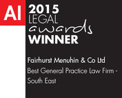 2015 Legal Awards Winner